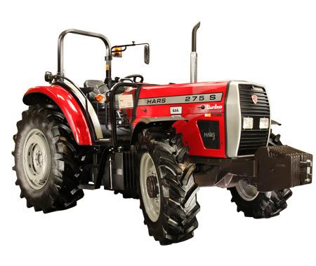 Hars 275 S 4 WD Rollbar Traktör Teknik Özellikleri