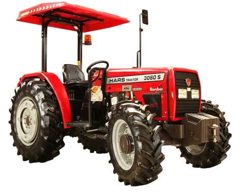 Hars 3060 S 4 WD Güneşlikli Traktör Teknik Özellikleri